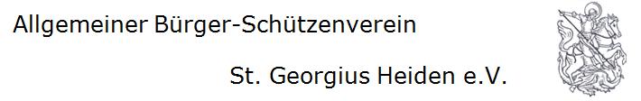 Allgemeiner Bürger-Schützenverein St. Georgius Heiden e.V.